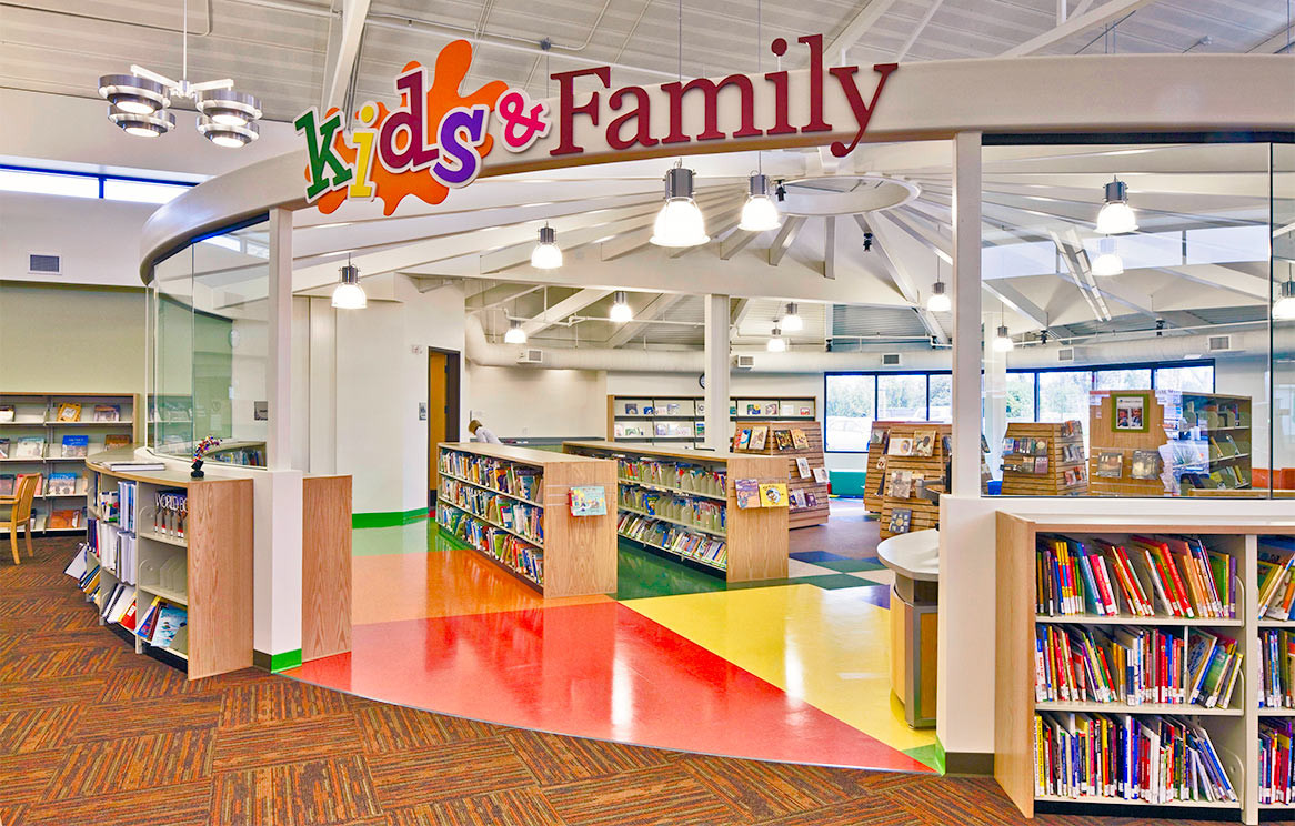 Ramona Library Interior