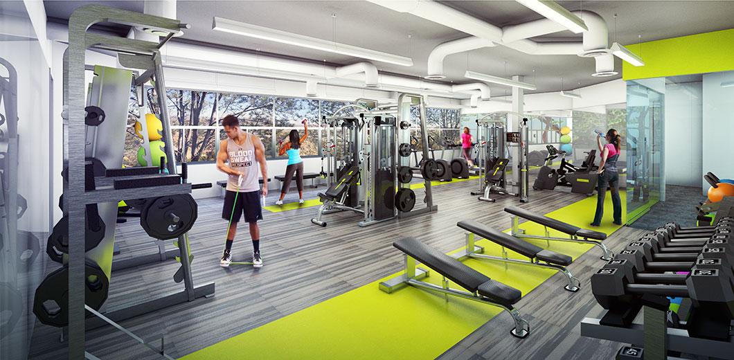 HCP Torreyana Road Fitness Center